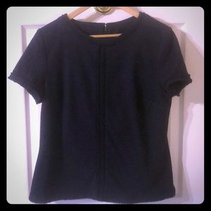 Banana Republic Navy Size 12 Blouse